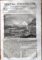 Teatro Universale N.166 1837 Rheinwald Valle Sup. Reno Salome Comune E Pesca - Vieux Papiers