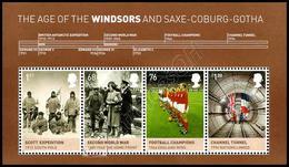 Gran Bretagna / Great Britain 2012: Foglietto Windsor / The Age Of The Windsors S/S ** - Blocchi & Foglietti