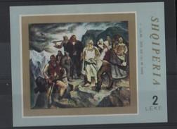LOT 465  - ALBANIE BF N°  19 * - PEINTURE LULAMI - Cote 4.50 € - Art