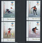 Kirghizstan N° 500/03** (MNH) 2010 - J.O De Vancouver