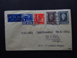 Cover Netherlands Holland Air Mail Par Avion Luftpost 1948 - Postzegels