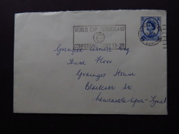 Postcard England World Cup Sunderland Competition Durham 1966 - Postales