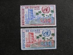GUINEE : TB Paire PA N° 13 Et PA N°14, Neufs X. - Guinée (1958-...)