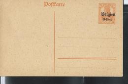 Carte Neuve N° 10.   Germania Surchargé - Duitse Bezetting