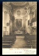 Darfo - La Chiesa Del Monastero / Long Line Postcard Circulated, 2 Scans - Altre Città