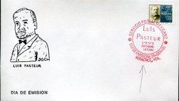 18071 Mexico,  Fdc  1995  Louis Pasteur,   Postmark Of VERACRUZ - Louis Pasteur
