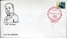 18072 Mexico,  Fdc  1995  Louis Pasteur,   Postmark Of  MERIDA - Louis Pasteur