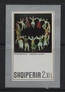 LOT 465  -  ALBANIE  BF   N° 22 **  -   TABLEAU A. BUZA- Cote 4.50 € - Art