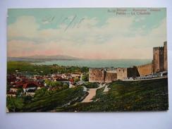 """CPA """"Patras - La Citadelle"""" - Grecia"""