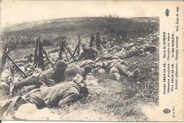Soldats Anglais Au Repos Dans La Somme - Characters