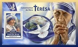 Togo. 2016 Mother Teresa. (612b)