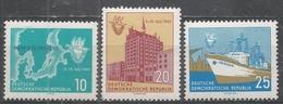 German Democratic Republic 1962. Scott #614-6 (MNH) Baltic Sea Week, Rostock ** Complet Set - [6] Democratic Republic