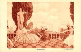 [DC3980] CPA - L'INDIFFERENTE - H. MONTASSIER - Non Viaggiata - Old Postcard - Cartoline