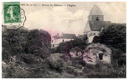 78 BEYNES - Ruines Du Châtau (gondolée) - Beynes
