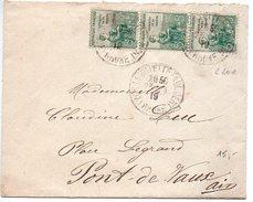 Orphelins 5+5 X3 Sur Lettre De 1919 - Marcophilie (Lettres)