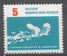 German Democratic Republic 1962. Scott #621 (MNH) Free Style Swimming * - [6] République Démocratique