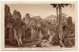 Cambodge--ANGKOR--Ruines-Le Bayon,Aile Est De La Galerie Extérieure Nord  éd Braun & Cie - Cambodge