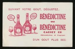 Buvard - BENEDICTINE - Buvards, Protège-cahiers Illustrés