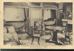 CPA Autun - Chambre Historique De Napoléon à L'Hôtel Saint Louis -  Circulée - Autun