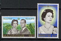 1972 - MAURITIUS - Catg.. Mi. 383/384 - NH - (I-SRA3207.9) - Mauritius (1968-...)