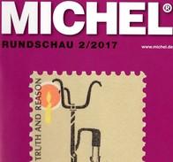 MICHEL Briefmarken Rundschau 2/2017 New 6€ Stamps Of The World Catalogue/magacine Of Germany ISBN 978-3-95402-600-5 - Tempo Libero & Collezioni