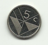 1990 - Aruba 5 Cents, - Monete