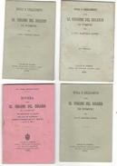Libro Religioso 8 Libretti Di Anni Diversi 1895-1932 Novena Alla SS. Vergine Del Rosario Di Pompei Di Bartolo Longo - Libri Antichi