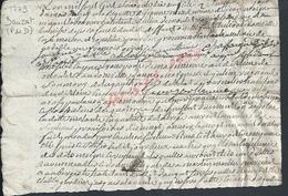 CACHET GENERALITE AUVERGNE DAUZAT 1779 : - Timbri Generalità