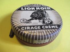 Boite En Fer/Produit D'entretien /Cirage Crème Pour Tous Cuirs/LION NOIR/Paris-Lyon/France/Vers1930-50     BFPP116 - Dozen