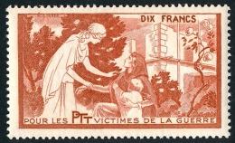 France - Vignette Bienfaisance PTT 'Victimes De La Guerre' N°59 **  ..Réf.FRA28864 - Erinnophilie