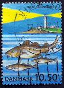 Denmark 2002  Se-forskning.   Minr.1317  (O)   ( Lot  D 595  )   Lighthouse