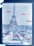 Cinq Plaques Stereoscopiques Neg  9x12 - Paris - Tour Eiffel (B513-2, M1) - Glasplaten