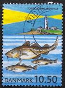 Denmark 2002  Se-forskning.   Minr.1317  (O)   ( Lot  D 598  )   Lighthouse