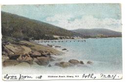 Australia Old Postcard Showing Middleton Beach Albany, - Albany