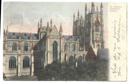 Australia Old Postcard Showing St Andrews Cathedral, Sydney 1905 - Sydney
