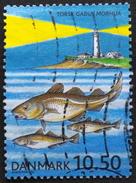 Denmark 2002  Se-forskning.   Minr.1317  (O)   ( Lot  D 599  )   Lighthouse