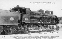 Les Locomotives Francaises (P.L.M.)  -  Machine No 4402 - Construite En 1911  -  Fleury Serie #116 - CPA - Trains