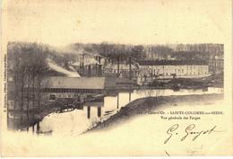 Carte Postale Ancienne De SAINTE COLOMBE Sur SEINE - Autres Communes