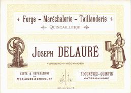 Carte Postale Ancienne De Le PLOUNEVEZ QUINTIN - France