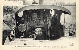 Les Locomotives Francaises (Est)  -  Machine No 220,878 - Vue D'arrière De La Cabine  -  Fleury Serie #183 - CPA - Eisenbahnen