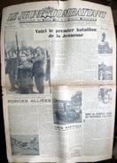 LE JEUNE COMBATTANT JOURNAL CONSACRE AUX FORCES UNIES DE LA JEUNESSE COMBATTANTE FUJP POUR LA LIBERATION 1944 - Riviste & Giornali