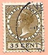 1921  ~ 1926  PAYS - BAS  N°  183 -  Oblitérés - 1891-1948 (Wilhelmine)