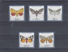 Allemagne Fédérale - Papillons Divers - Neufs** - Année 1992 - Y.T. N° 1430/1434 - Nuovi