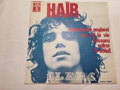 Julien  Clerc – Hair - Odeon – 2C 006-10372 M      - 1969 - - Vinyles