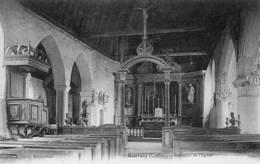 CPA - BOURSAY (41) - Aspect De L'intérieur De L'Eglise Au Début Du Siècle - France