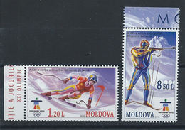 Moldavie N° 602/03** (MNH) 2010 - J.O De Vancouver