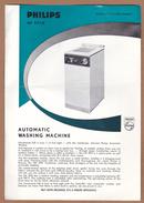 AC - PHILIPS HA 2910 AUTOMATIC WASHING MACHINE SPECIFICATION SHEET - Netherlands