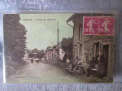 CORNAY . ROUTE DE FLEVILLE - Otros Municipios