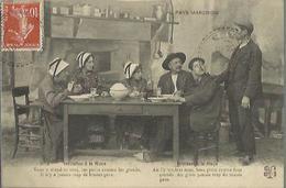 1089 CPA Invitation à La Noce - Mariage ( Costume - Folklore ) .. - Noces