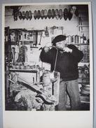 LE SABOTIER / CLICHE CLAUDE FAGE / 1988 / BELLE CARTE PHOTO - Artigianato